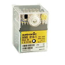 Steuergerät Feuerungsautomat Satronic/ Honeywell MMI 810.1 Mod.33 501034 Hofamat