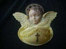 Vintage c1940 HARTLAND Religious ANGEL HOLY WATER FONT Hartland Wisc.