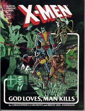 Marvel Graphic Novel #5 X-Men God Loves Man Kills 1st printing 1982 NM 9.4