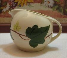 Blue Ridge Southern Potteries Vintage Baltic Ivy Creamer Skyline Shape 4 Chips