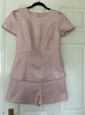 Cotton V Neck 3/4 Sleeve Jumpsuits & Playsuits for Women