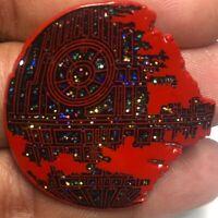 Red Star Wars Death Star Pin