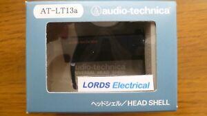 AUDIO TECHNICA  AT-LT13a UNIVERSAL  HEAD SHELL 13g ATLT13A  ALUMINIUM BODY