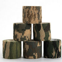 4.5M Army Camo Wrap Rifle Gun Shooting Hunting Camouflage Stealth Webbing Tape