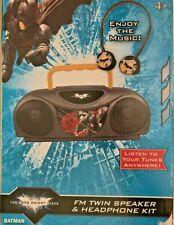 The Dark Knight Rises FM Twin Speaker and Headphone Kit