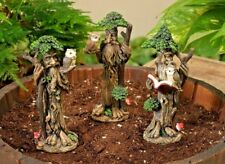 Treeman set/3 asst Figurine GE 2392500 Miniature Fairy Garden Dollhouse