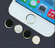 Aluminium Home Button Sticker Metal For Apple iPhone 6 5S 5C  iPod Touch iPad