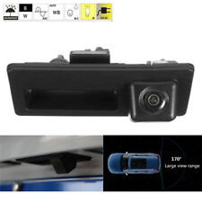 Car CCD Rear View Backup Parking Trunk Handle Camera for Audi A4 A6 A8L S5 Q3 Q5