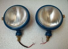 Ford Tractor Head Light Set (LH + RH) - 12 V Blue