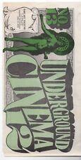 1960s Underground Cinema Fine Art Theatre Counterculture Movie Guide Fresno