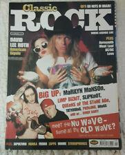 Classic Rock Magazine April 2001 David Lee Roth Cover
