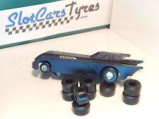 8 pneumatici posteriori uretano Polistil Batmobile 1/43 o 1/43 F1 IT