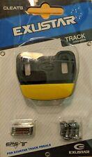 Exustar E-C101 Cleats for Toe Clip Pedals, 3 Bolt Look, L'Eroica or Track Cover