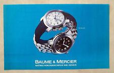 C362-Advertising Pubblicità-1998- BAUME & MERCIER CAPELAND