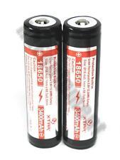 XTAR 18650 3400 3.6v Protected Rechargeable 2x PCB Battery Panasonic NCR18650B