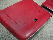 69 70 71 72 NOVA RED BUCKET SEAT BACKS