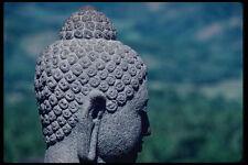 217087 borobodur Buddha in profilo A4 FOTO STAMPA