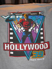 """Hollywood Union 39 Years"" T-Shirt –TV Movie Film Item (XL)"