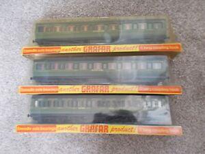 3 x Grafar 1787 Southern Railway First/Third Class Coaches with corridor (1)