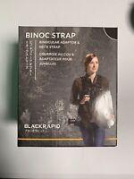 BlackRapid Binoc Bino Binocular Strap - Brand New