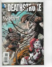 DEATHSTROKE #13 - HARLEY QUINN COVER - PAOLO PANTALENA ART & COVER - 2015