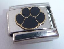 PAW PRINT Italian Charm I Love my Cat Dog Pet E14 fits Classic Starter Bracelets