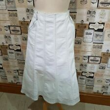 Per Una Cotton Blend Patternless Casual Skirts for Women