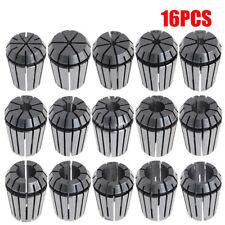 16PCS ER25 Spring Collet Steel Set For CNC Milling Lathe Tool Engraving 1-16MM