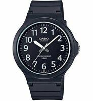 New CASIO Analog Watch Black/White MW-240-1BJF Standard Men's From JAPAN