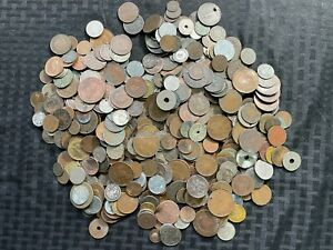 Massive Bulk Lot of 500+ Older Cull Worldwide 1800's & Early 1900's Lot#A10