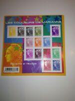 Bloc f 4409 les couleurs de marianne
