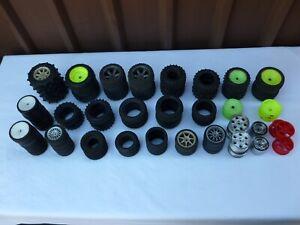 Mixed Lot RC Wheels and Tyres Bulk Lot  -  RC Car Parts