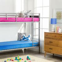 LUCID 6 Inch Gel Memory Foam Kids Mattress - Pink and Blue - Twin Twin XL Full