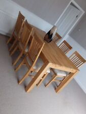 Barker and Stonehouse Oak Table & Chair Sets