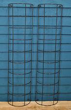 2 x Gardman Metal Tube Climbing Plant Trellis (91cm x 20cm)
