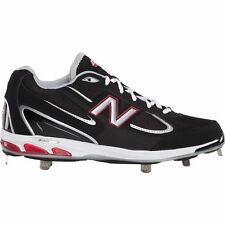 NIB MENS NEW BALANCE 1103 BASEBALL CLEATS SIZE 15 EE WIDE BLACK WHITE