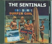 The Sentinals - Big Surf! / Surfer Girl Cd Perfetto