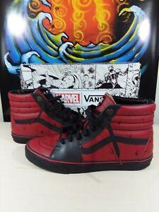 """Vans Sk8-hi X Marvel """"Deadpool"""""""