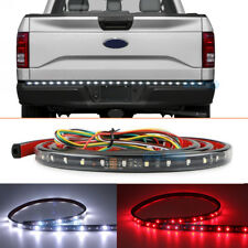 "60"" LED Flexible Strip Tailgate Light Reverse Brake For Chevy Ford Dodge Truck"