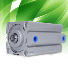 Sda63x100 Pneumatic Dual Action Thin Type Air Cylinder 63mm 100mm Hole: 63 mm Us