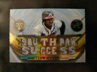 2019 Topps Triple Threads Relics 31/36 Ozzie Albies #TTR-OA3 Southpaw Success