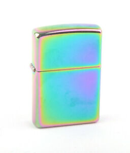 Zippo 2005 Oil Slick Lighter (Plain Spectrum)
