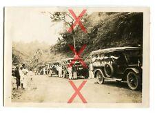 KREUZER EMDEN - orig. Foto, Ausflug, Autos, Sumatra, Indonesien, Reise 1926-28