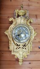 CARTEL BRONZE FRENCH JAPY FRERES WALLCLOCK  LOUIS 16