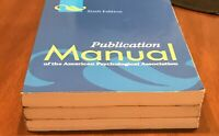 Publication Manual of American Psychological Association 6th Ed 9781433805615