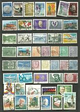 FINLAND - 47 used stamps from the 1960's & 1970's