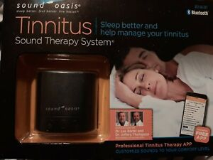 Sound Oasis BST-80-20T Tinnitus Sleep Sound Therapy System w/Bluetooth