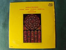 CHAPELS OF THE PRINCES (François I) / ensemble ROGER BLANCHARD - LP  MONO MG 105