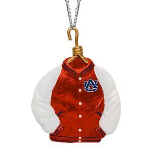 Auburn Tigers Christmas Tree Holiday Ornament New - Team Logo Varsity Jacket