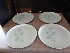 "4 TAYLOR SMITH AND TAYLOR ""Boutonniere"" EVER YOURS Dinner Plates 10-1/4"""